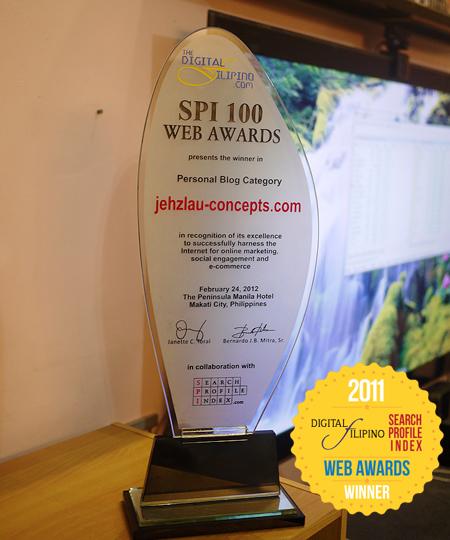 SPI Web Awards - Best Personal Blog