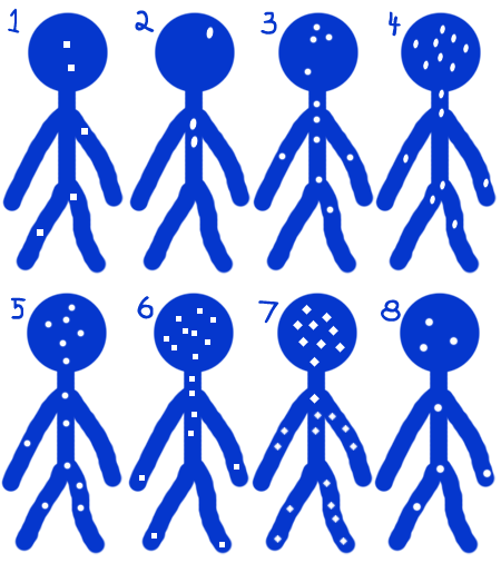Blue Stickman Puzzle