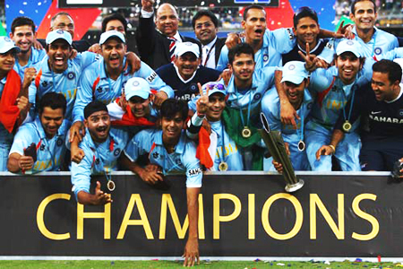 ICC T20 World Cup 2007 Champions