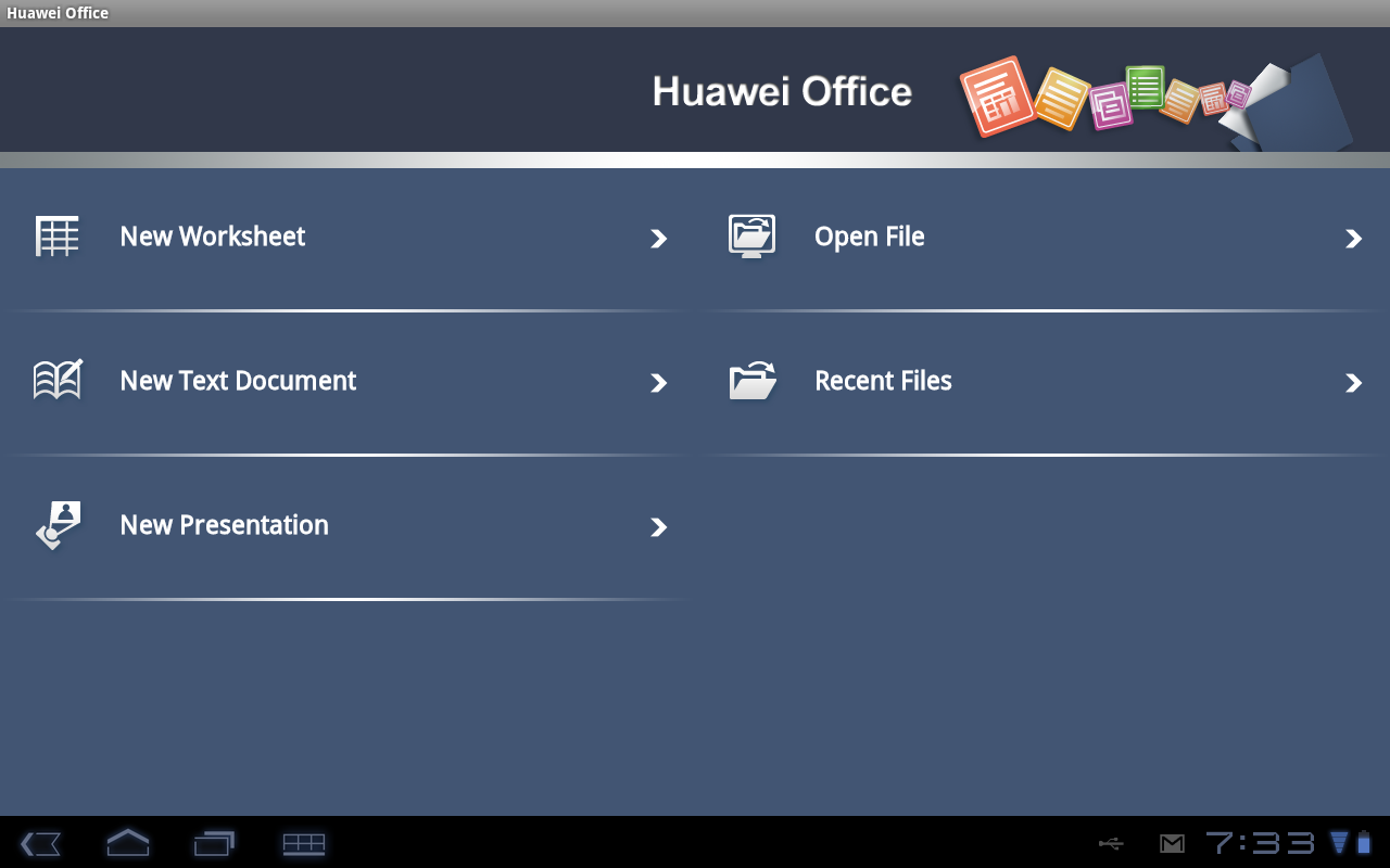The Huawei Office