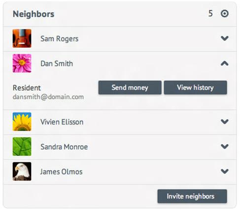nTrust Neighborhood Screenshot