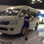 The Foton View Traveller after it was unveiled