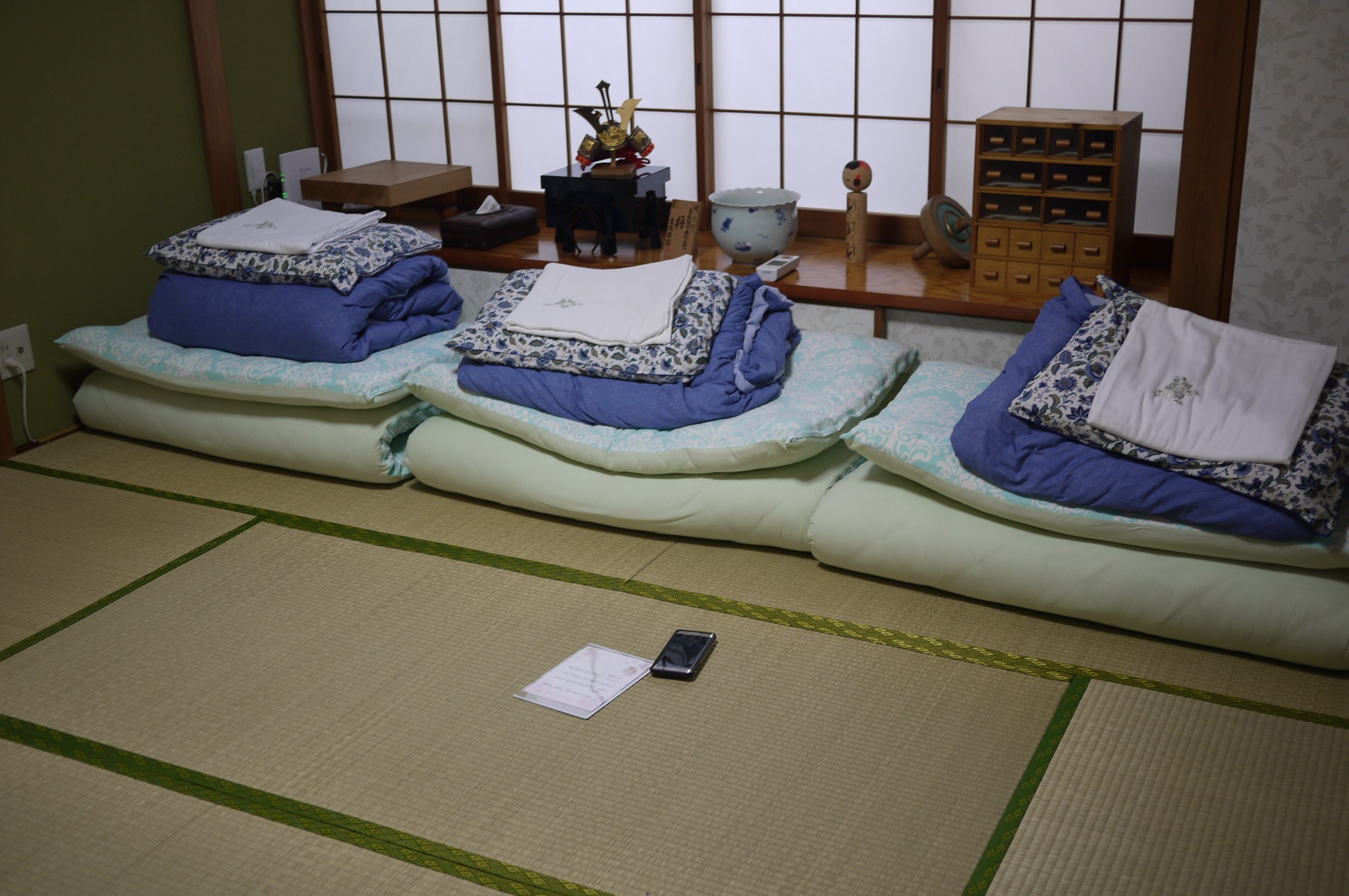Our Airbnb apartment in Keio-Tamagawa