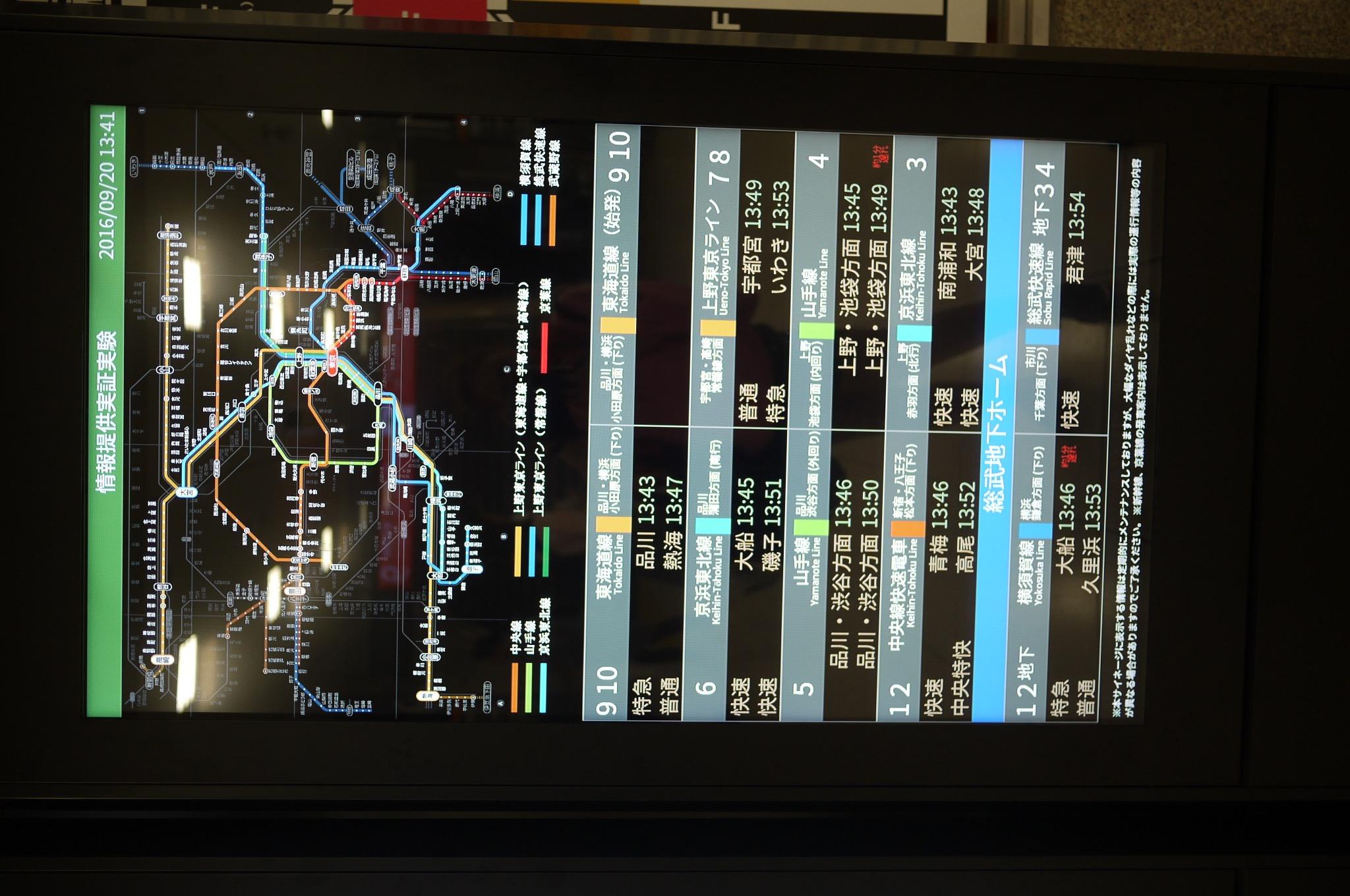 Rail Transit Routes in Tokyo