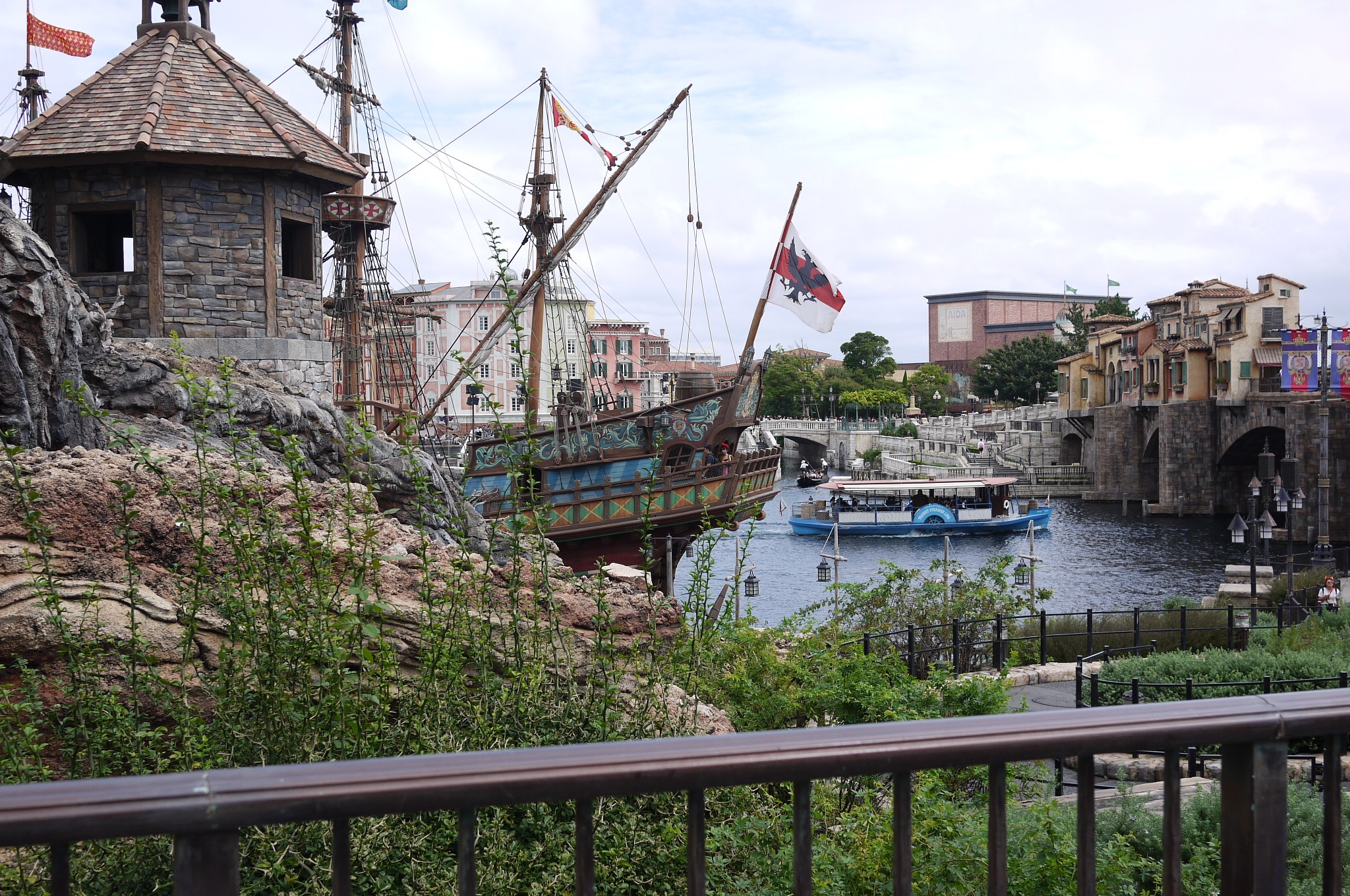 Antique Ship View in Disney Sea