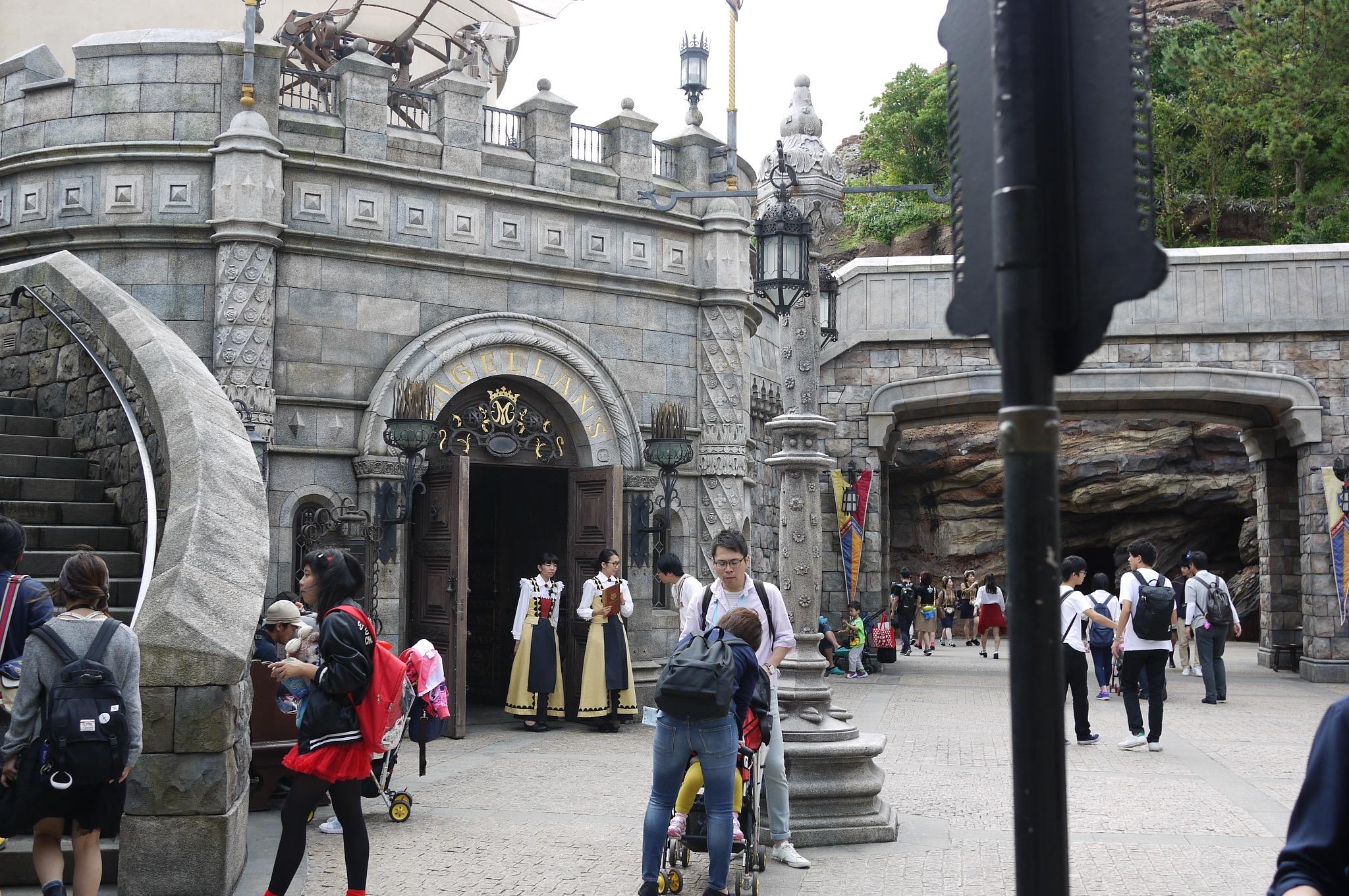 A castle in Disney Sea