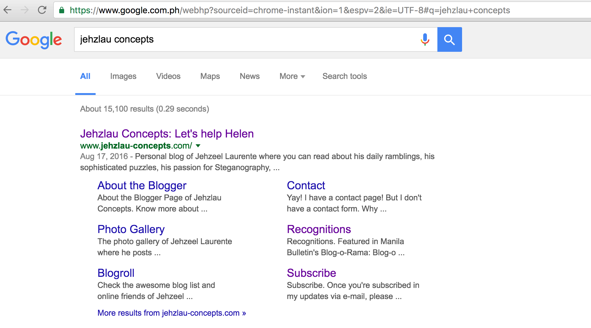 Wordpress Post title shows instead of Site Name in Google Search Results